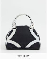 Glamorous Exclusive Bowler Bag - Black