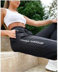 Under Armour Training Rival Fleece Embroidered joggers - Black