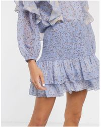 We Are Kindred - Amalfi Ditsy Floral Print Mini Skirt - Lyst