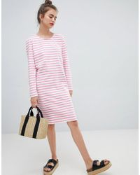 Blend She - Bell Striped Shift Dress - Lyst