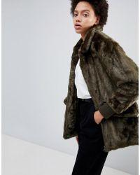 Parka London - Jade Teddy Faux Fur Coat - Lyst