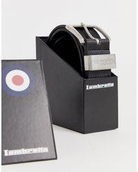 Lambretta Cinturón - Negro