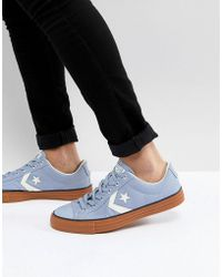 Converse - Star Player Ox Sneakers In Blue 159743c - Lyst