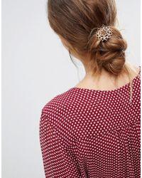 Orelia - Heart Chakra Hair Clip - Lyst