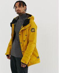 Billabong - Adversary Jacket In Yellow - Lyst