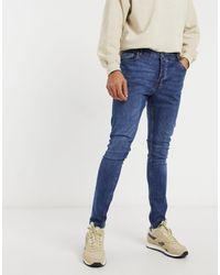 Brave Soul Ultimate - jeans skinny scuro - Blu