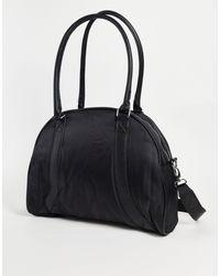 ASOS Retro Sports Holdall Bag - Black