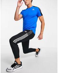 adidas Originals Черные Джоггеры Adidas Football Tiro 21-черный Цвет - Синий