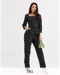 Y.A.S - Arianna Polka Dot Jumpsuit - Lyst