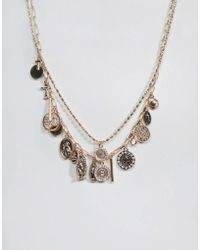 ALDO | Multilayer Coin Necklace | Lyst