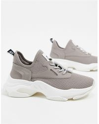Steve Madden Match Chunky Trainers - Natural