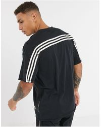 adidas Originals - Черная Футболка Adidas Training-черный - Lyst
