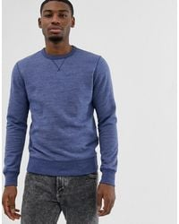J.Crew Mercantile Crewneck Sweatshirt - Blue