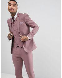 Rudie - Giacca skinny da abito da matrimonio color pastello - Lyst