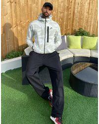 Nike Sportswear Tech Fleece Camo-Hoodie mit durchgehendem Reißverschluss für - Weiß