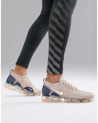 Nike Vapormax Flyknit 2 - Baskets - Beige 942842-201 - Neutre