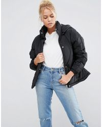 ASOS - Padded Shell Puffer Jacket - Lyst