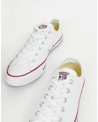 895841a979e8 Converse - Chuck Taylor All Star Ox Sneakers In White M7652c - Lyst