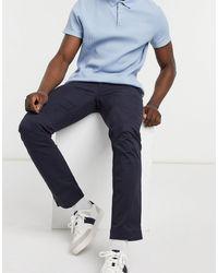 Ted Baker Pantalon chino slim uni - Bleu