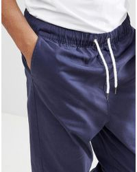 Another Influence - Pull On Cropped Drawstring Chinos - Lyst
