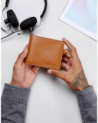 Forbes & Lewis - Leather Billfold Wallet In Tan - Lyst