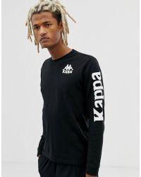 180ea1dd Nike Printed Long Sleeve T-shirt In Black 929374-011 in Black for Men - Lyst