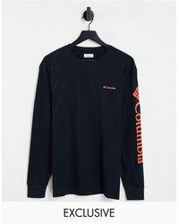 Columbia Camiseta negra y roja - Negro