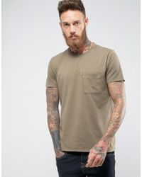 Nudie Jeans | Co Anders Mended T-shirt | Lyst
