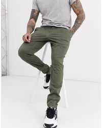 Only & Sons Skinny-fit Chino - Groen