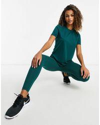 ASOS 4505 Leggings con tacto - Verde