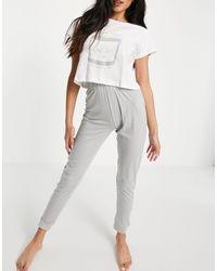 Brave Soul Self Love Pajama Set - Gray