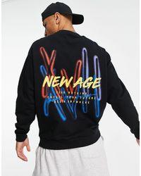 ASOS Oversized Sweatshirt - Black