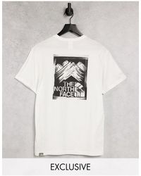 The North Face Stroke Mountain T-shirt - White