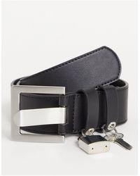 ASOS Wide Belt - Black