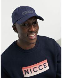 Nicce London Dock Iridescent Logo Cap - Blue