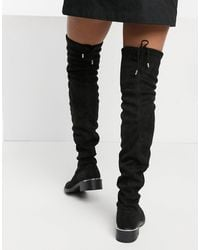 Schuh Danni Over The Knee Boot - Black