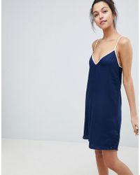Tommy Hilfiger - Slip Dress - Lyst