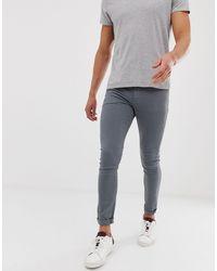 ASOS Jeans super skinny grigi - Grigio