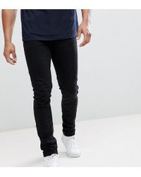 ASOS - Design Tall Skinny Jeans In Black - Lyst