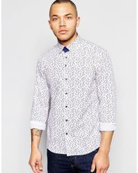 Dickens And Browne - Floral Shirt - Lyst