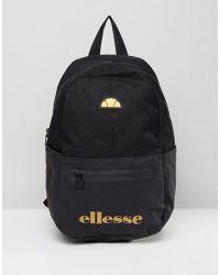 Ellesse | Backpack With Logo In Black | Lyst