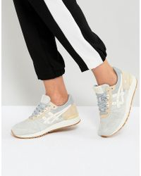 Asics - Gel-lyte Sneakers In Grey And Cream - Lyst
