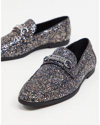 ASOS Loafers - Metallic