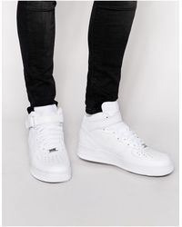 Nike - Белые Кроссовки Air Force 1 Mid '07 315123-111-белый - Lyst