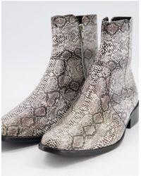 TOPMAN Boots - Grey