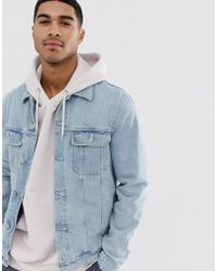 7309c1f66 Ganni Quilted Bomber Jacket In Satin in Blue for Men - Lyst
