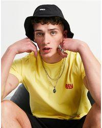 Obey Jazz - cappello da pescatore con coulisse colore - Nero
