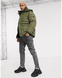 Pull&Bear - Join Life Puffer Jacket - Lyst