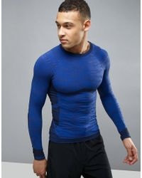 KI5-A - Scult Seamless Compression Gym Top - Lyst