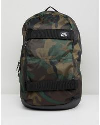 Nike - Courthouse Camo Skate Backpack - Lyst